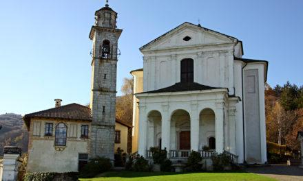 SANTUARIO DELLA MADONNA DEL SASSO – Chiesa, campanile e casa parrocchiale tra miti e leggende